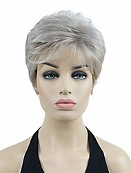 """cheap -6"""" women's short wigs soft wavy natural synthetic wig layered movement classic styled (101)"""
