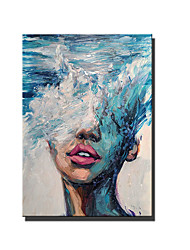 cheap -Oil Painting Handmade Hand Painted Wall Art People Abstract Paintings Home Decoration Decor Stretched Frame Ready to Hang