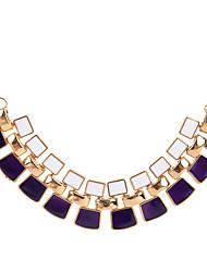 cheap -fashion double layered gemstone necklace