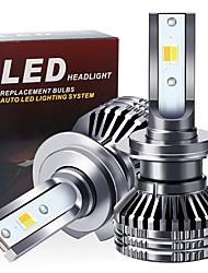 cheap -H4 Led Headlight H7 LED Car Bulb H1 H3 9005 9006 9012 HB3 HB4 H11 LED Fog Lamp 12V Car Accessories White Yellow warm white