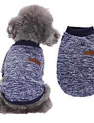 cheap -Dog Costume Sweatshirt Quotes & Sayings Simple Style For Indoor and Outdoor Use Casual / Daily Outdoor Winter Dog Clothes Puppy Clothes Dog Outfits Warm Black / White Wine Red Purple Costume for Girl