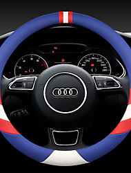 cheap -Steering Wheel Covers Carbon Fiber Black / Blue / Yellow / Black / Red For universal General Motors All years
