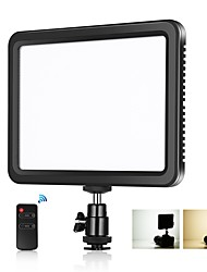 cheap -17.5*18*1.5 cm Video Light PULUZ Portable Adjustable Remote Control Adjustable Brightness for Live Streaming Video Studio Shooting Camera Product Display
