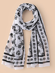 cheap -Women's Active Infinity Scarf - Skull Breathable