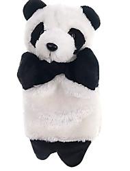 cheap -Panda Plush Hand Puppets for Kids - Cute Cartoon Animal Doll Kids Glove Hand Puppet Panda Plush Finger Toys - Soft Puppy Stuffed Animal Hand Puppet Toys for Puppet Show Games & Puppet Theaters