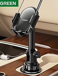 cheap -UGREEN Phone Holder Stand Mount Car Car Holder Cupula Type Adjustable Aluminum Alloy ABS Phone Accessory iPhone 12 11 Pro Xs Xs Max Xr X 8 Samsung Glaxy S21 S20 Note20