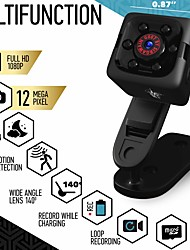 cheap -Mini Spy Camera 1080P Hidden Camera - Portable Small HD Nanny Cam with Night Vision and Motion Detection - Indoor Covert Security Camera for Home and Office - Hidden Spy Cam - Built-in Battery