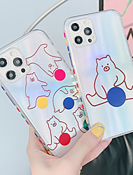 cheap -Phone Case For Apple Back Cover iPhone 12 Pro Max 11 X XR XS Max Shockproof Dustproof Graphic TPU