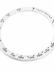 cheap -nicerio compatible for amazfit gtr 47mm bezel metal watch bezel ring adhesive cover anti scratch protection