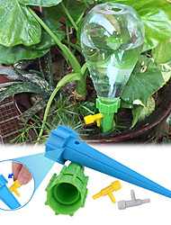 cheap -18 PCS Plant Automatic Watering Tip Holiday Automatic Plant Watering Drip Irrigation Slow Release Equipment Potted Plant Watering Tool With Slow Release Switch Control Valve to Care for Your Plants An