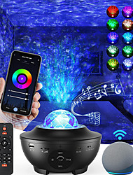 cheap -Star Galaxy Projector Light Projector Light Stage Lights Star Light Projector Laser Light Projector Smart App Control Party Bedroom Decor Halloween Gift RGB
