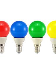cheap -LED Globe Bulbs 10pcs 0.8 W 30 lm E14 G45 8 LED Beads Dip LED Decorative White Red Blue 110-240 V