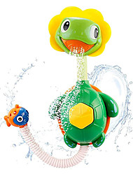 cheap -Turtle Baby Bath Toys Spray Bathing Tub Fountain Toys for Kid Hand Shower Floating Bathtub Shower Pool Bathroom Toy for Baby Toddler Infant Kids