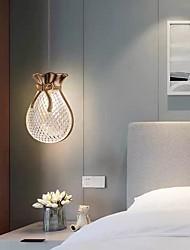 cheap -LED Pendant Light Gold Kitchen Island Light Bedside Light 12 cm Lantern Desgin Pendant Light Metal Electroplated Modern 220-240V 110-120V