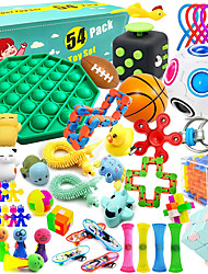cheap -54 Pcs Sensory Fidget Toys Set, Relieves Stress and Anxiety Fidget Toy, Special Needs Stress Reliever Toys for Kids Adults, Sensory Therapy Toys for ADHD Autism Stress Anxiety