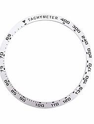 cheap -baluue compatible for samsung galaxy watch bezel ring 42mm gear sport anti scratch protection case compatible with samsung watch white