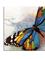 cheap -Oil Painting Handmade Hand Painted Wall Art Modern Many Kinds Beautiful Butterfly Abstract Home Decoration Decor Rolled Canvas No Frame Unstretched