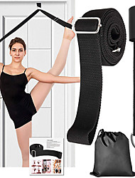 cheap -Stretch Out Strap Stretch and Resistance Exercise Band Yoga Strap Sports Poly / Cotton Cotton Yoga Pilates Durable Adjustable D-Ring Buckle Stretching Improve Flexibility For Women's Men's