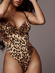 cheap -Women's Leopard Print Sexy Sexy Bodies Nightwear Leopard Print Leopard S M L