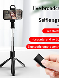 cheap -Selfie Stick Bluetooth Extendable Max Length 68.2 cm For Universal Android / iOS