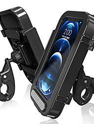 cheap -Phone Holder Stand Mount Motorcycle Bike Bike & Motorcycle Phone Mount Car Holder Buckle Type Adjustable ABS Phone Accessory iPhone 12 11 Pro Xs Xs Max Xr X 8 Samsung Glaxy S21 S20 Note20