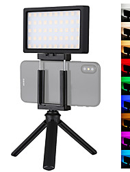 cheap -Video Light PULUZ Portable Adjustable RGB Color Modes Adjustable Brightness for Live Streaming Video Studio Shooting Camera Product Display