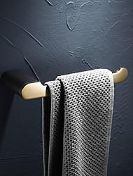 cheap -Towel Bar Creative Modern Brass Wall Mounted Bathroom Single Towel Rod 1pc
