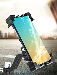 cheap -Phone Holder Stand Mount Bike Outdoor Bike & Motorcycle Phone Mount Buckle Type Adjustable 360°Rotation ABS Phone Accessory iPhone 12 11 Pro Xs Xs Max Xr X 8 Samsung Glaxy S21 S20 Note20