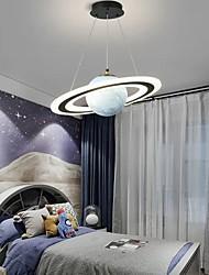 cheap -LED Pendant Light Planet Design 45 cm Lantern Desgin Bedroom Light Metal Painted Finishes Modern 220-240V 110-120V