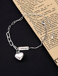 cheap -Women's Ankle Bracelet 18K Gold Plated Anklet Jewelry Silver For Party Wedding Street Gift Daily