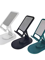 cheap -Phone Holder Stand Mount Desk Phone Holder Phone Desk Stand Adjustable 360°Rotation ABS Phone Accessory iPhone 12 11 Pro Xs Xs Max Xr X 8 Samsung Glaxy S21 S20 Note20