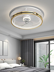 cheap -LED Ceiling Light 50 cm Circle Design Ceiling Fan Aluminum Artistic Style Modern Style Classic Brushed Electroplated LED Nordic Style 220-240V