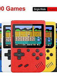 cheap -Retro Portable Mini Handheld Video Game Console 8-Bit 3.0 Inch Color LCD Kids Color Game Player Built-in 400 games