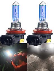 cheap -2pcs Fog light Colorful halogen lamp H1 H7 H8 H11 9005 9006 Car CSP LED Fog Headlight Bulbs  Auto Fog Lamp Day Running Light 100W
