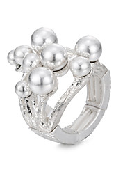 cheap -Adjustable Ring Pearl Handmade Silver Gold Pearl Alloy Mini Artistic Natural Elegant 1pc Adjustable / Couple's