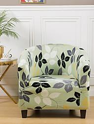cheap -Stretch Club Chair Cover Slipcover Armchair Barrel Tub Chair Boho Soft Durable Washable