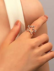 cheap -Ring Retro Silver Gold Rhinestone Alloy Star Stylish Simple European 1pc One Size / Women's