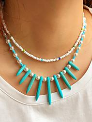 cheap -Women's Jewelry Set Beads Ethnic Fashion Holiday Boho Imitation Pearl Earrings Jewelry 1# / 2# / 3# For Street Gift Prom Beach Festival 2pcs