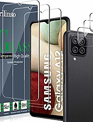 cheap -Phone Screen Protector For SAMSUNG Galaxy A52 Galaxy A72 Galaxy A42 Galaxy A32 5G Galaxy A12 Tempered Glass 3 pcs High Definition (HD) Scratch Proof Front Screen Protector Phone Accessory