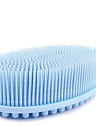 cheap -Exfoliating Silicone Body Scrubber Easy to Clean Lathers Well Long Lasting And More Hygienic Than Traditional Loofah Blue