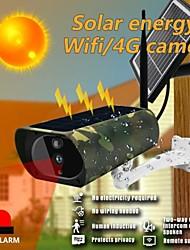 cheap -WiFi 4G Solar Camera 1080P HD Solar Wifi Camera Outdoor Wireless Security Camera Camouflage surveillance camera