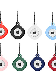 cheap -Silicone Protective Case For Apple Airtags Bluetooth Tracker Cover Anti-Lost Anti-Scratch Waterproof Protector Case For iPhone Airtags 2021 Smart Accessory