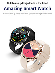cheap -V23 Smartwatch Fitness Running Watch Bluetooth Pedometer Activity Tracker Sleep Tracker Long Standby Media Control with Camera IP 67 43mm Watch Case for Android iOS