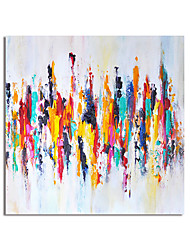 cheap -Oil Painting Handmade Hand Painted Wall Art Abstract Home Decoration Dcor Stretched Frame Ready to Hang
