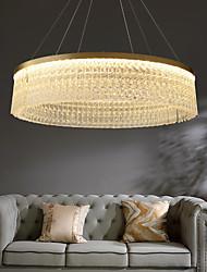 cheap -LED Pendant Light Glass Chandelier Modern Gold 50cm 60cm 80cm Stainless Steel Electroplated 220-240V 110-120V