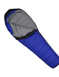 cheap -Sleeping Bag Outdoor Camping Mummy Bag for Adults -5-10 °C Single White Duck Down Waterproof Portable Ultra Light (UL) Breathable Durable 210*80*50 cm Fall Winter for Camping / Hiking / Caving