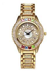 cheap -Missfox quartz watches alloy waterproof high-end casual women's steel band watches