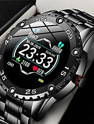 cheap -LIGE BW1053 Smartwatch Fitness Running Watch Bluetooth 1.45 inch Screen IP 67 Waterproof Touch Screen Heart Rate Monitor Pedometer Call Reminder Activity Tracker 45mm Watch Case for Android iOS