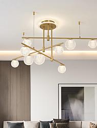 cheap -LED Ceiling Light Modern Nordic Cluster Design Chandelier Copper Modern Style Sputnik Globe Brass 9 6 Heads 84cm 105 cm 220-240V 110-120V