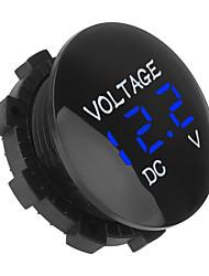 cheap -Car Digital Voltage Meter 12V-24V DC Voltmeter for Motorcycle Boat ATV Truck
